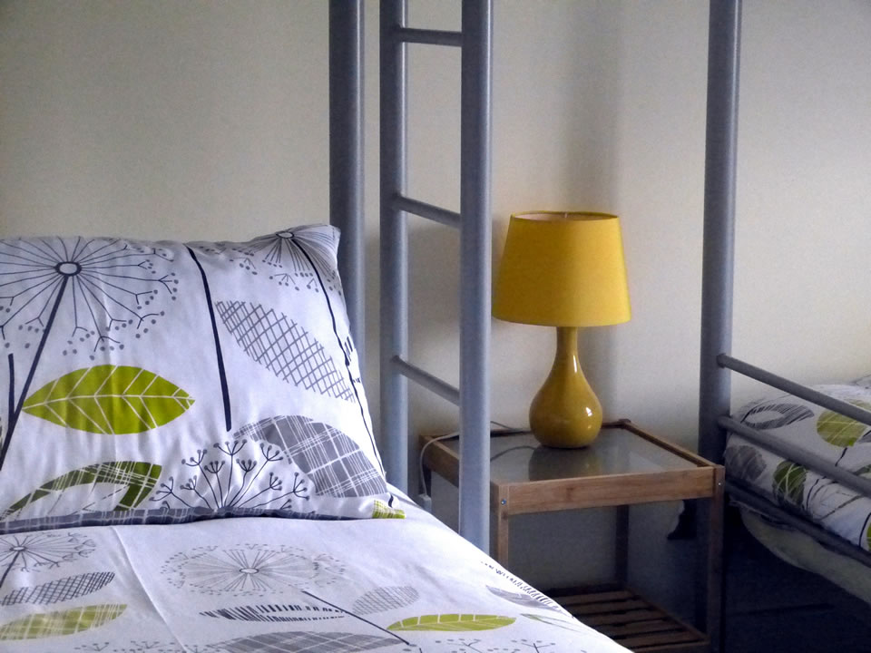 Bedroom 2: Badger's Den – Sleeps 5